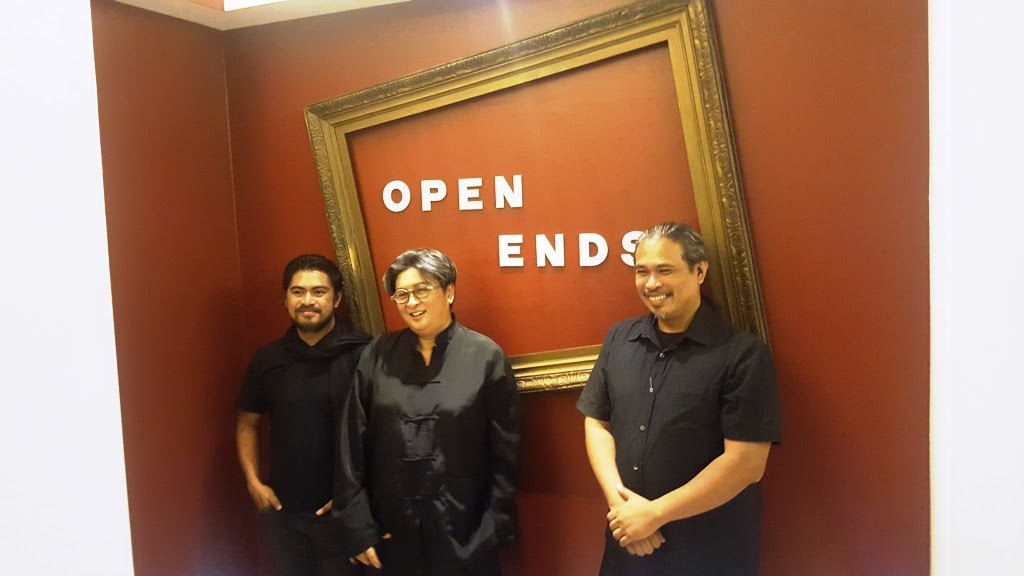 RIEL HILARIO, LING QUISUMBING, AND TOYM IMAO FOR LOPEZ MUSEUM AND LIBRARY OPEN E