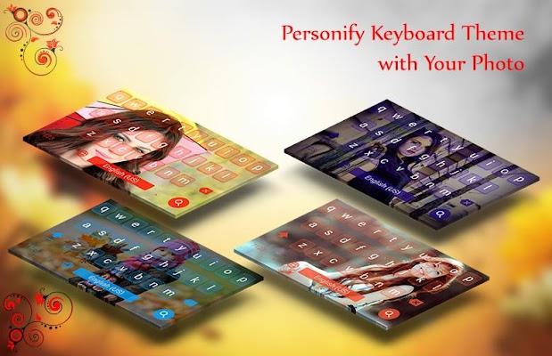 My Photo Keyboard - screenshot