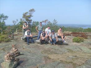 Photo: Orrdalsklintan huipulla 2010,mukana tuttavat Jämsänkoskelta