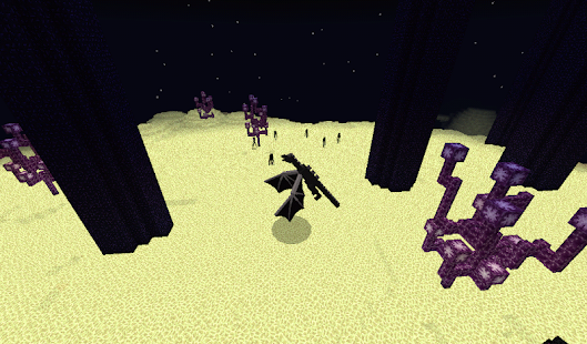 The End add-on Minecraft PE - náhled