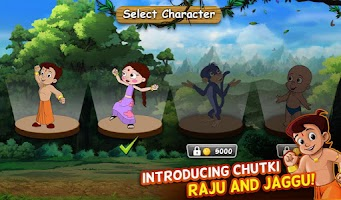Screenshot of Chhota Bheem Jungle Run