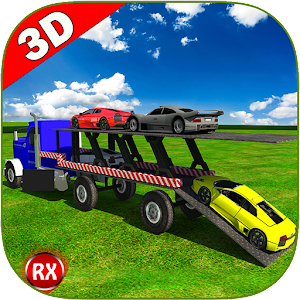Transporter Truck: Sports Cars for PC and MAC