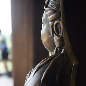 the Buddhist statue  ,, by Arnetta Rachma - Artistic Objects Other Objects