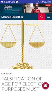 Stephen Legal - náhled