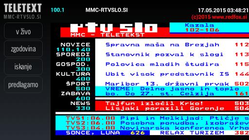Teletekst RTVSLO by RedFox.si