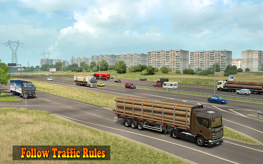 US Heavy Grand Truck Cargo 3D Driver 1.0 screenshots 5