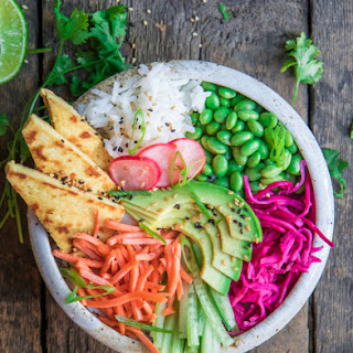 Coconut Jasmine Rice with Sesame Tofu Recipe
