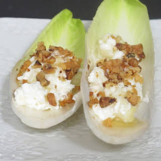 Endive and Goat Cheese Appetizers.