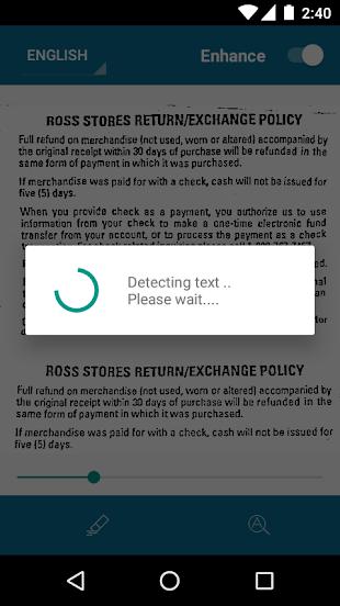 OCR - Text Scanner Pro- screenshot thumbnail