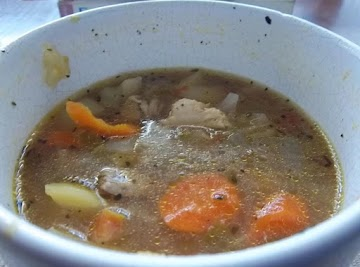 George's Chicken Vegetable Soup Recipe