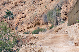 Photo: The old way from Jerusalem to Jericho