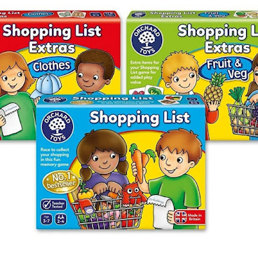 英國 orchard toys shopping list 一套三盒 英語遊戲卡