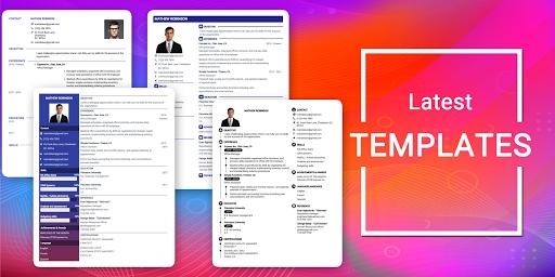 Resume Builder App Free CV maker CV templates 2020 screenshot 15