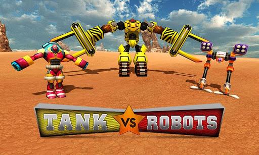 坦克VS机器人:真实坦克战争