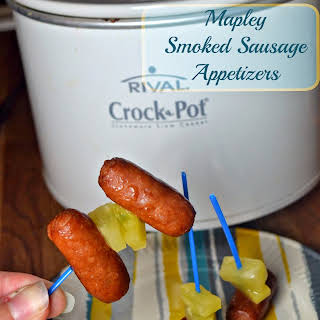 Mapley Smoked Sausage Appetizers.
