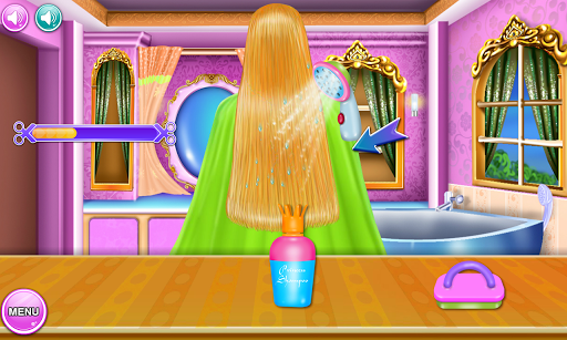 Princess Hairdo Salon 4.2 screenshots 1