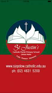 St Justin's Oran Park Skoolbag - screenshot thumbnail
