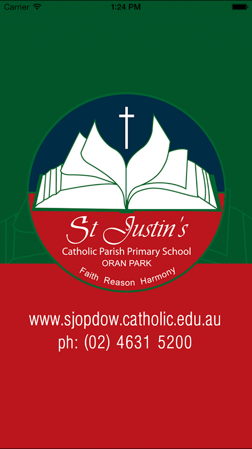 St Justin's Oran Park Skoolbag - screenshot