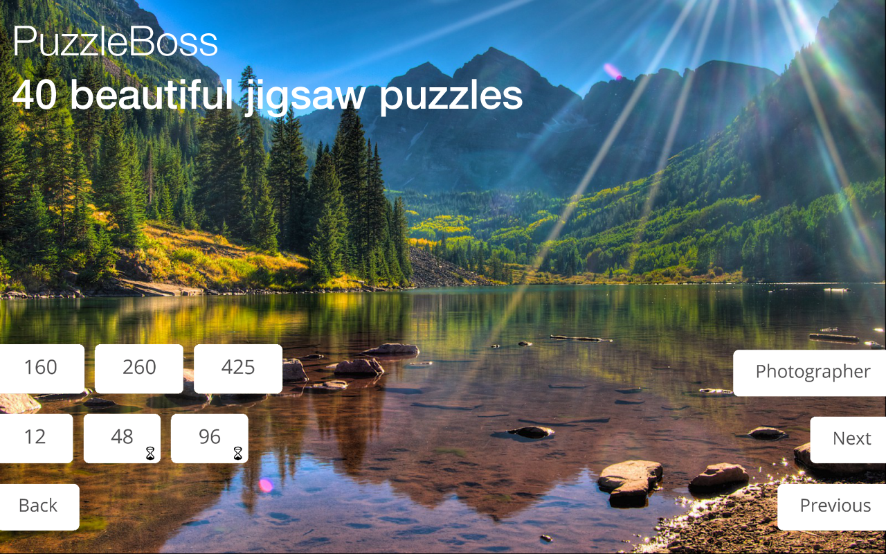 Jigsaw Puzzles: Landscapes- screenshot