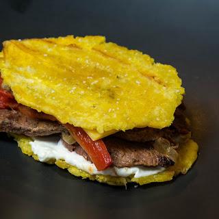 Dragon's Breath Jibarito Sandwich