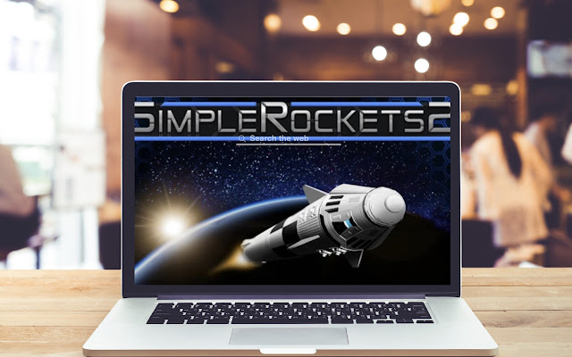 SimpleRockets 2 HD Wallpapers Game Theme