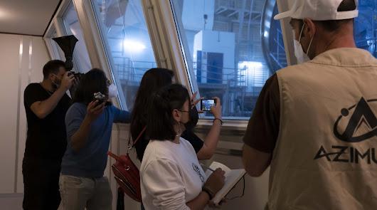 Alumnos de la EISO preparan un documental sobre Calar Alto