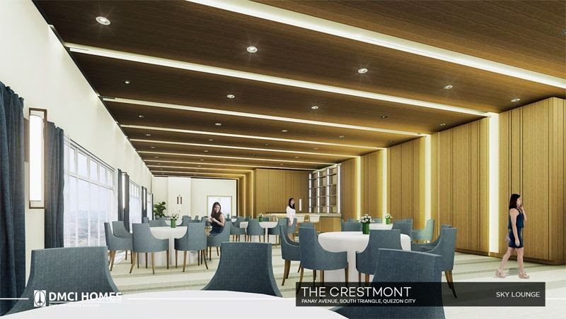 The Cresmont, Panay Avenue, Quezon City sky lounge