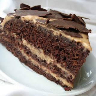 Cake Mocha with dark chocolate