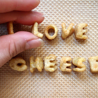Alphabet and Rosemary Cheddar Crackers.