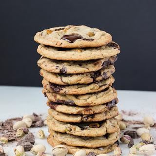 Pistachio Dark Chocolate Chunk Cookies