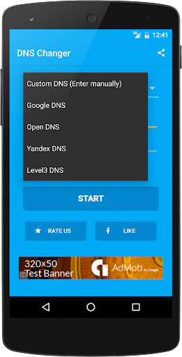 DNS Changer (no root 3G/WiFi) 1024r screenshots 2