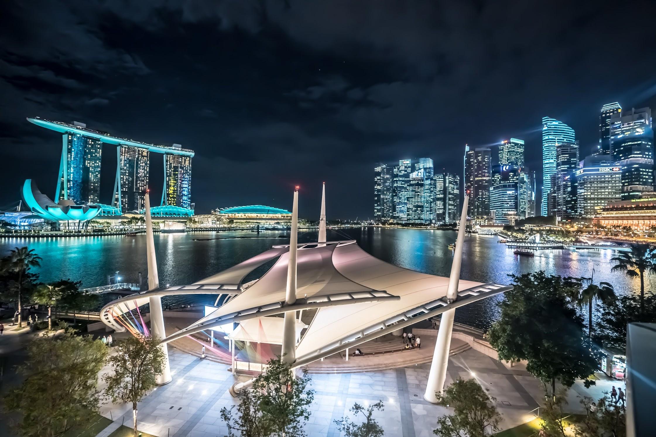 シンガポール エスプラネード (Esplanade) 展望台2