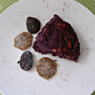 Cabbage and Potato Cake.