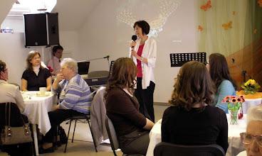 """Photo: 2011. április 16-án tartottuk tavaszi női teadélutánunkat, """"Tavaszi átváltozás""""címmel"""