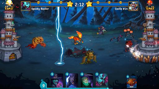 Spooky Wars - Castle Battle Defense Strategy Game modavailable screenshots 14