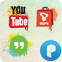 Graffiti Icons Launcher Theme icon