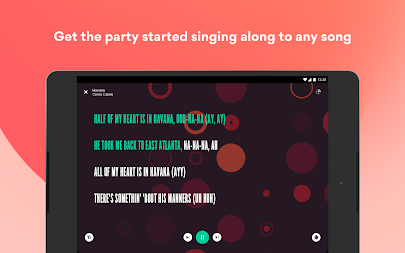 Musixmatch - Lyrics for your music APK screenshot thumbnail 13