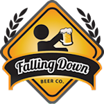 Logo for Falling Down Beer Co.