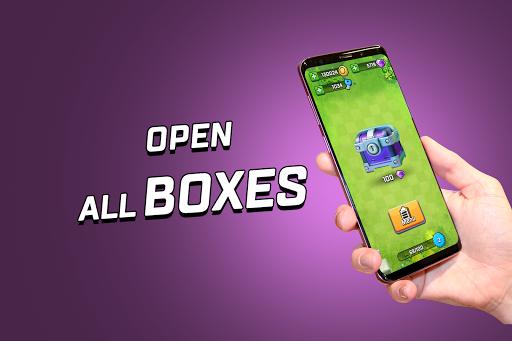 Box Simulator for Rush Wars: Open the Box! 1.6b screenshots 1