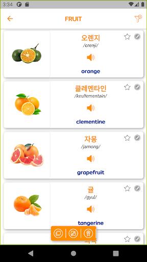 Learn Korean - 6000 Essential Words 1.3.2 screenshots 3