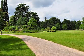 Photo: Beplantingen eilandborders RHS gardens Wisley