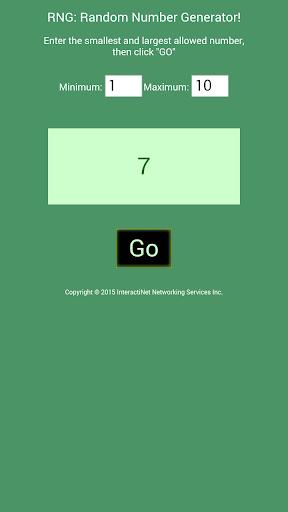 RNG: Random Number Generator