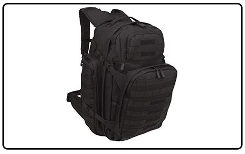 SOG Barrage Tactical Internal Frame Backpack, 64.3-Liter One Size, Black