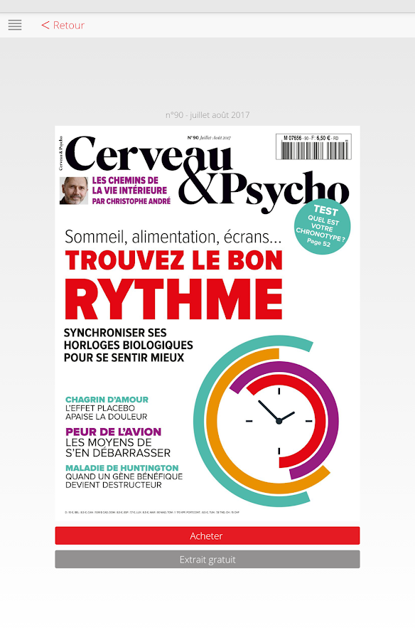 Cerveau & Psycho- screenshot