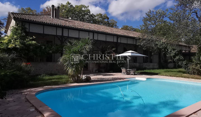 Maison avec piscine Casteljaloux