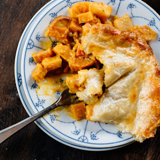 Roasted Root Vegetable Pie Recipes