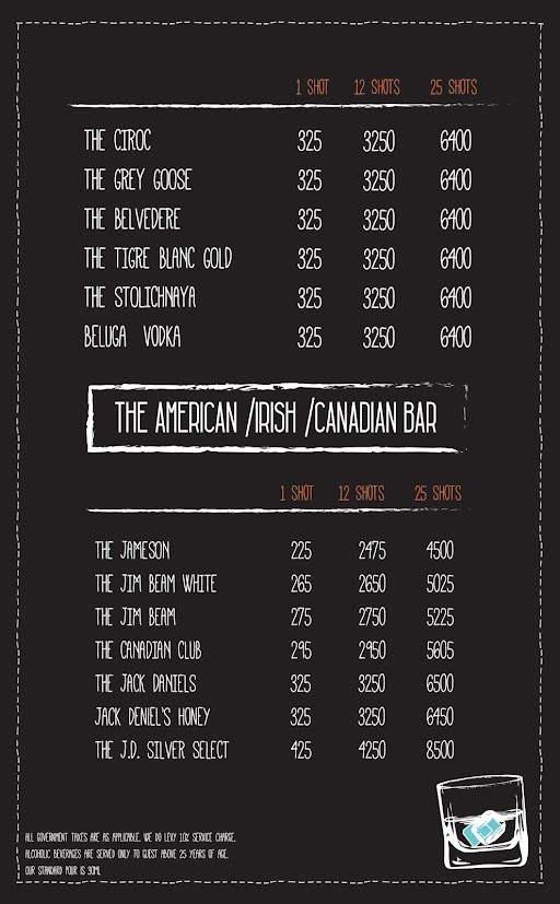 Open House menu 8