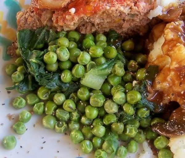 Petite Peas With Thyme And Garlic