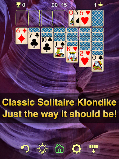 Solitaire Klondike 2.5.0 screenshots 11