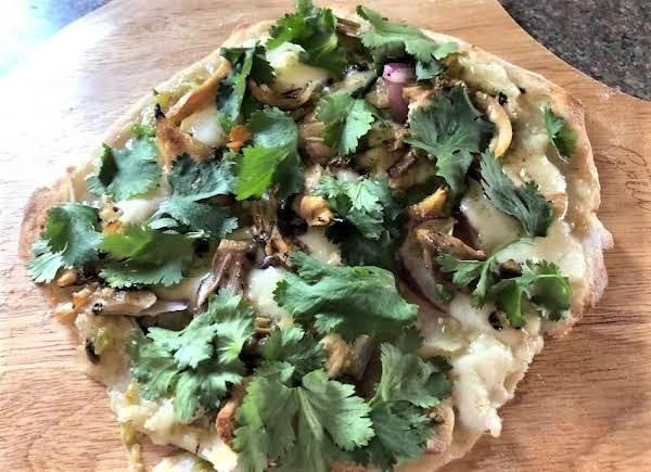 Mexican Chicken Flatbread Pizza